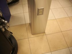 Custom Stainless Steel Post Cover with plug